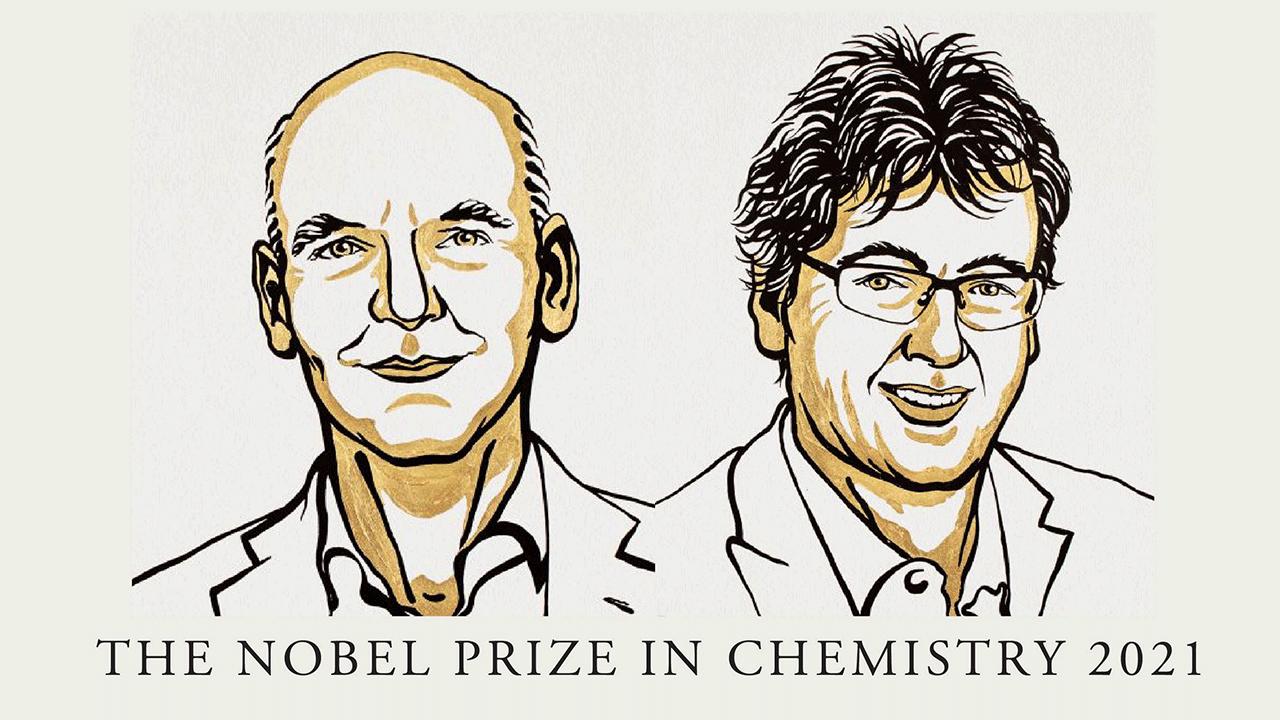 โนเบลเคมี 2021 พัฒนาเทคนิค 'เร่งปฏิกิริยา'  สร้างกระบวนการเคมีที่เคยเป็นพิษให้เป็นมิตรต่อสิ่งแวดล้อม
